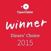 Zin Bistro Selected as Open Table #LocalDinersChoice!