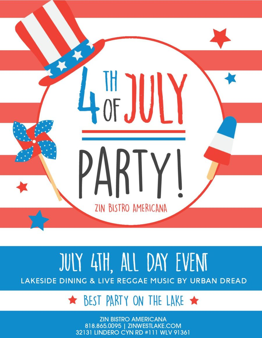 4th of July Party at Zin Bistro in Westlake Village